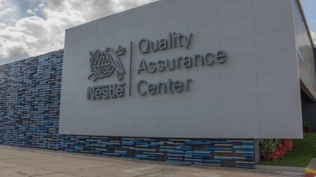 Foto do centro de qualidade da Nestlé