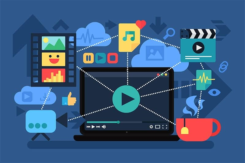 A eficácia de vídeos animados